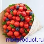 Купить букет из свежей клубники в москве